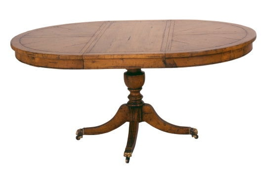 Chaddock Silverthorne Pedestal Table CE0917 ...