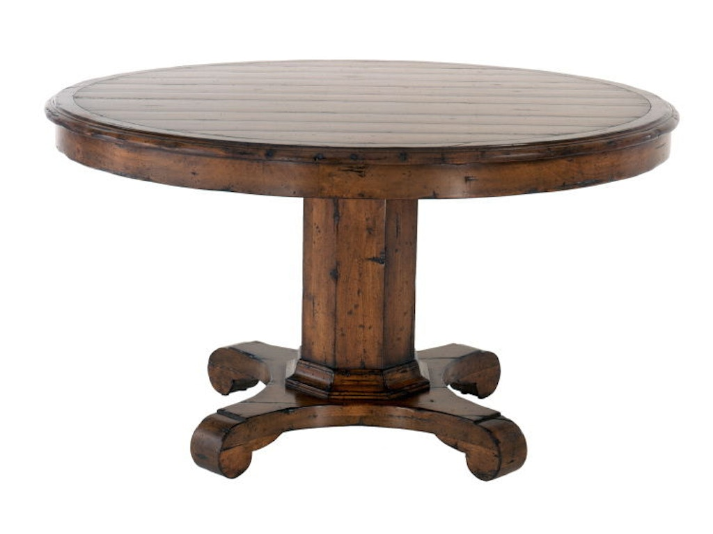 Chaddock dining room malvern pedestal table ce0956 - Table ronde magique ...
