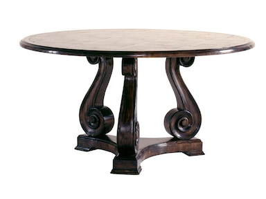 Chaddock Dining Room Messina Round Pedestal Table