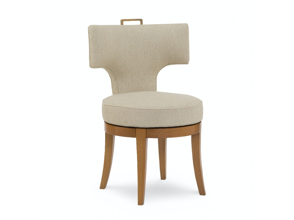 Chaddock dining room kerylos swivel chair de0384 lenoir for Dining room johnson city tn