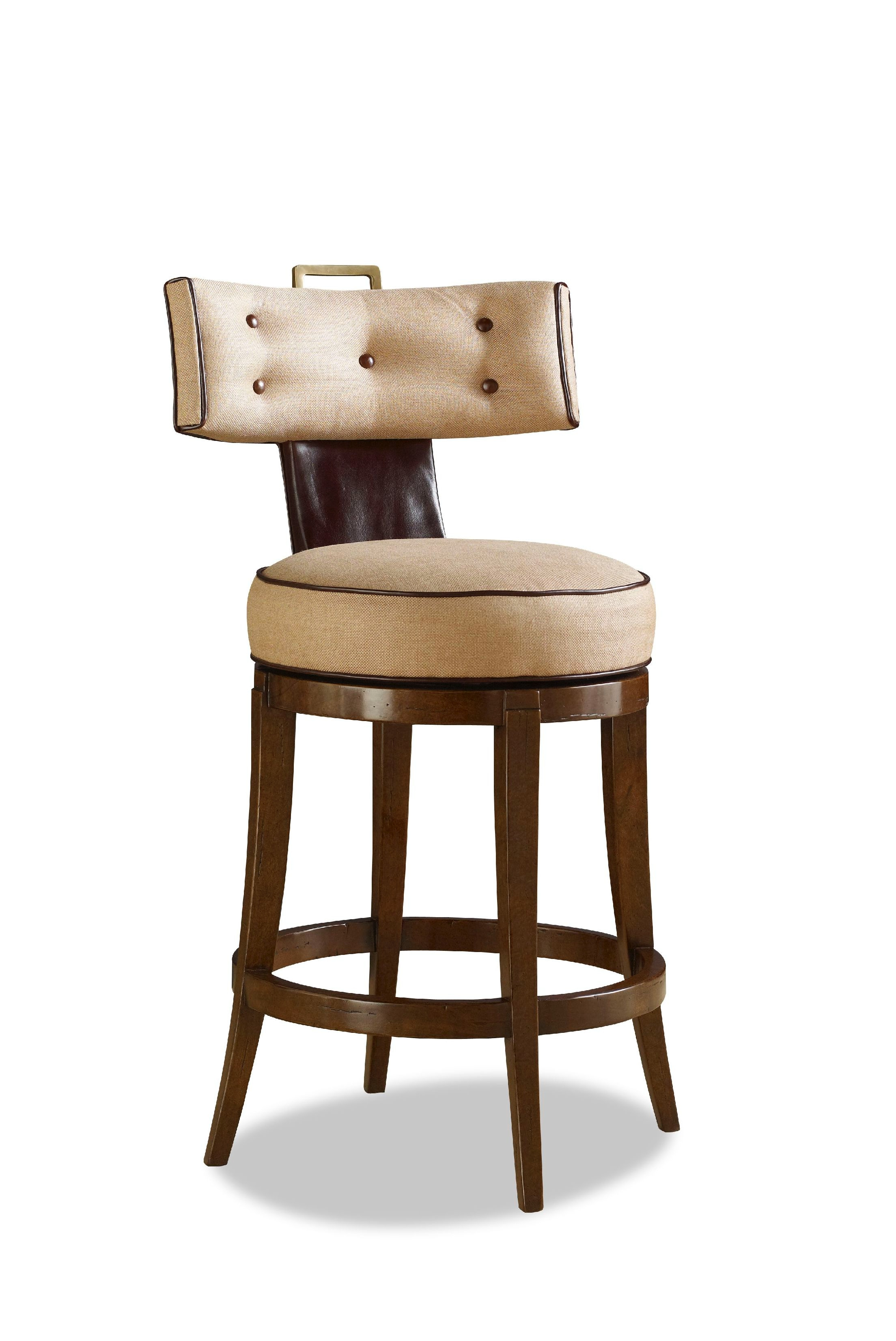 Chaddock Bar and Game Room Queensdale Swivel Barstool DE1943 : Hickory Furniture Mart : Hickory, NC