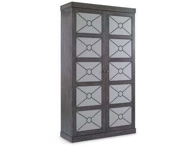 Chaddock Alpine Cabinet with Upholstery Panels GC1653-49