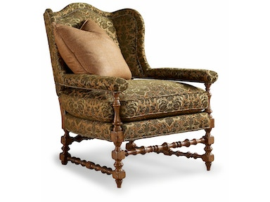 Chaddock Living Room Cottage Wing Chair