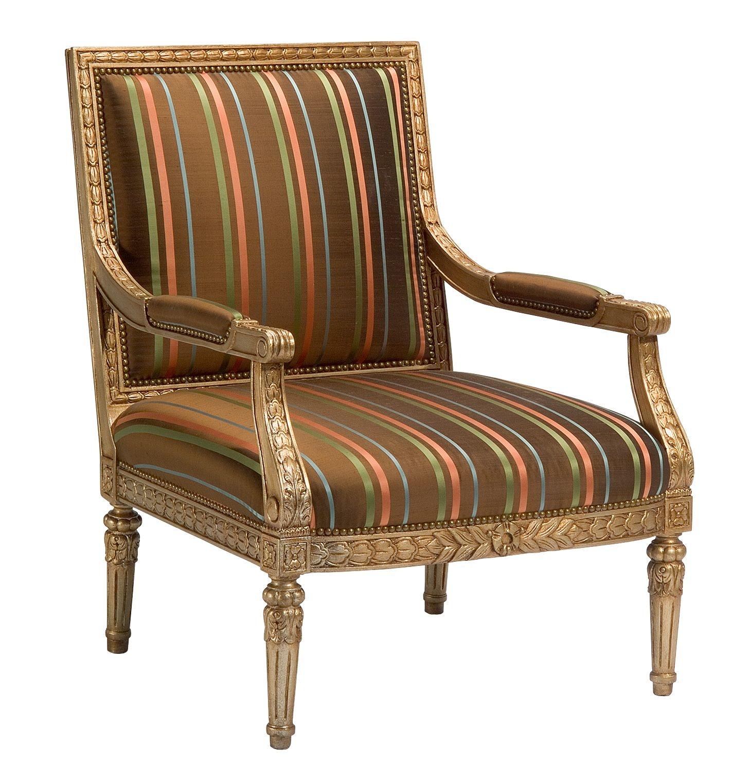 Chaddock Italian Provincial Lounge Chair Z 595 27 ...
