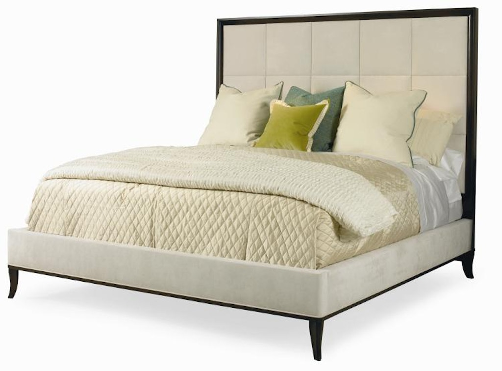 Century furniture bedroom bed with upholstery king size - King size bedroom sets in atlanta ga ...
