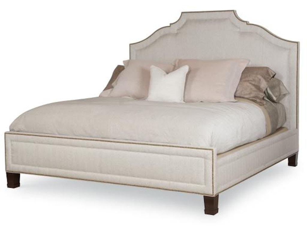 Century furniture bedroom fifth ave bed queen size 5 5 for Queen size bed furniture