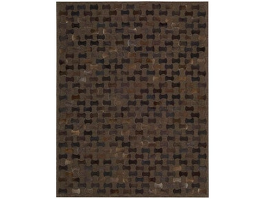 Joseph Abboud by Nourison Chicago CHI01 Rug CHI01 Chocolate