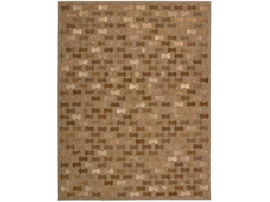 Joseph Abboud by Nourison Chicago CHI01 Rug CHI01 Brown