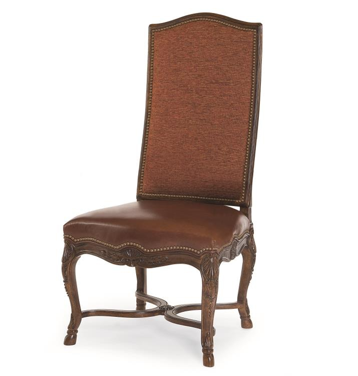 century furniture dining room hooved french side chair