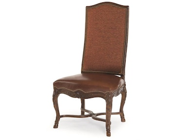 Century furniture dining room hooved french side chair 3223s ariana home furnishings design Home design furniture llc