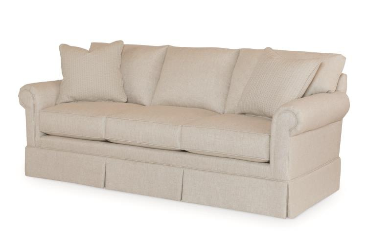 Century Furniture Living Room Clayburn Sofa ESN120 2 At Meg Brown Home  Furnishings