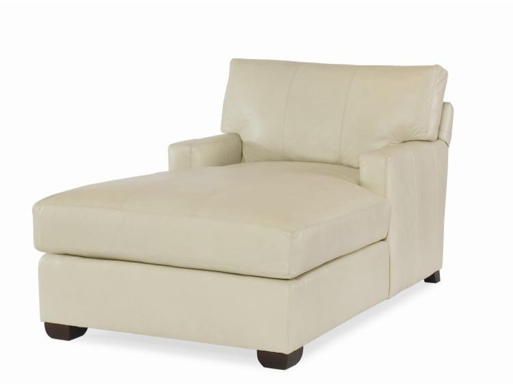 Century furniture living room leatherstone chaise lr 7600 for Century furniture chaise lounge