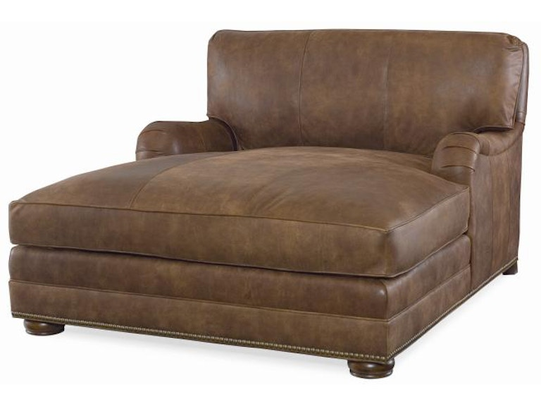 Century furniture living room leatherstone wide chaise lr for Lr furniture