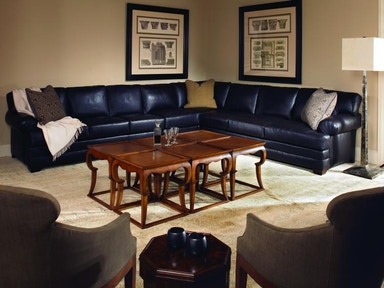Century Furniture Leatherstone Sectional