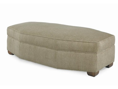 Century Furniture Cornerstone Wedge Ottoman