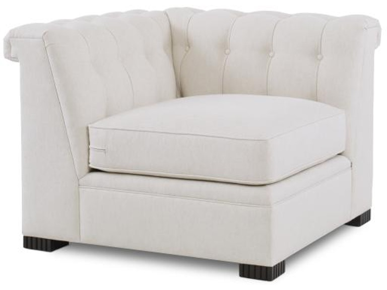 Century Furniture Living Room Modern Chesterfield Corner Chair