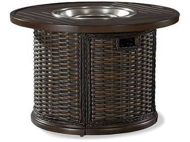 "Lane Venture South Hampton 42"" Round Gas Fire Pit 19790-42"