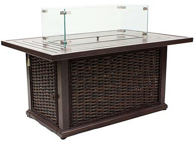 Lane Venture South Hampton Rectangular Fire Pit 19790-50