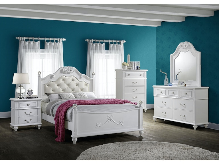 Elements International Youth Bedroom Alana Bedroom - Elements ...