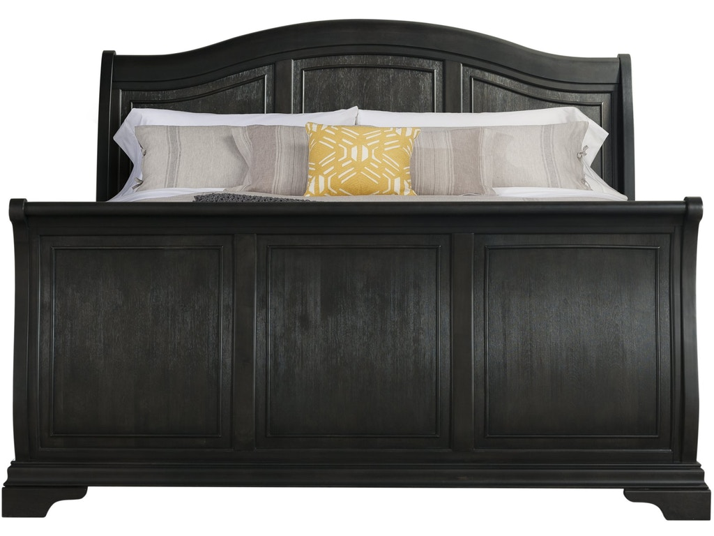 Elements international cameron charcoal sleigh bedroom Elements cameron bedroom set