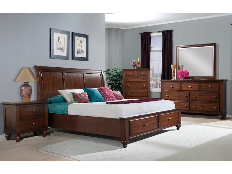 Elements International Chatham Storage Bedroom