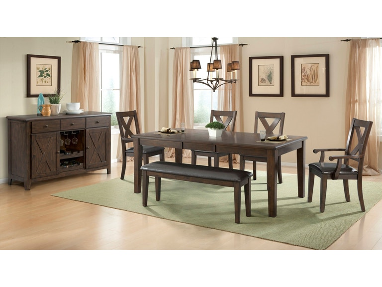 Elements International Dining Room Copper Ridge DCR100xx ...