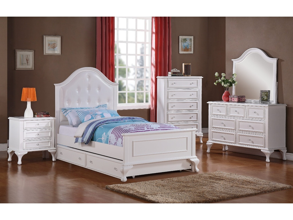 Elements International Youth Bedroom Jesse Bedroom - Elements ...