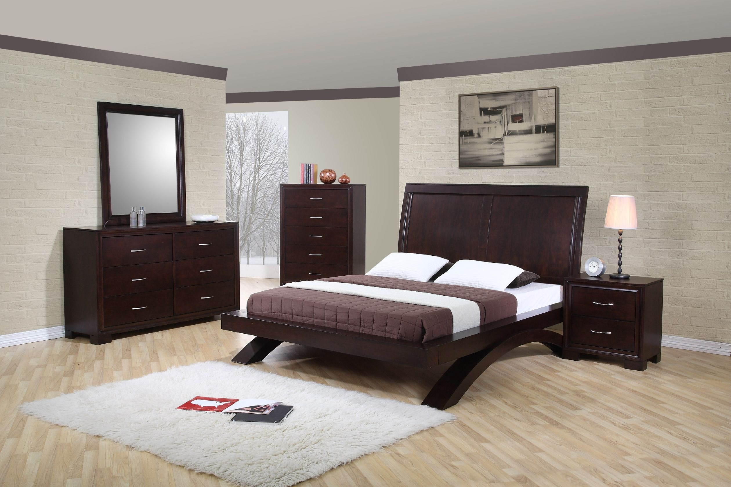 Sanctuary Queen Upholstered Bed Pearl Essence   Upholstered