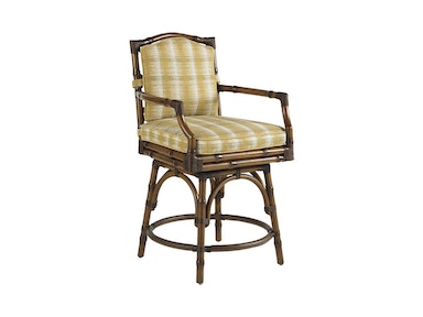 Tommy Bahama Outdoor Living Swivel Counter Stool 3160-17SW