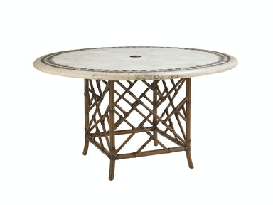 Tommy Bahama Outdoor Living Round Dining Table Base 3160-870TB