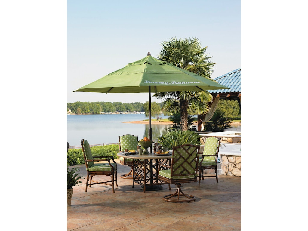 Tommy bahama outdoor living outdoor patio round dining for Outdoor furniture kansas city
