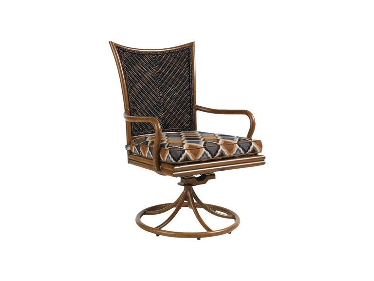 Tommy Bahama Outdoor Living Swivel Rocker Dining Chair 3170-13SR