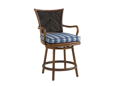 Tommy Bahama Outdoor Living Swivel Counter Stool 3170-17SW