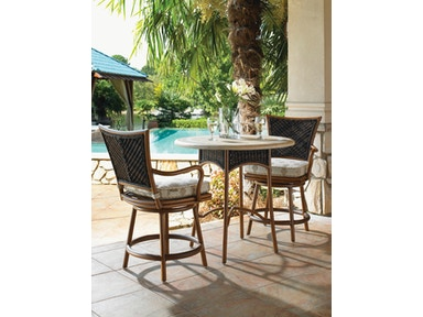 Tommy Bahama Outdoor Living Bistro Table Base Hi/Low 3170-873BB