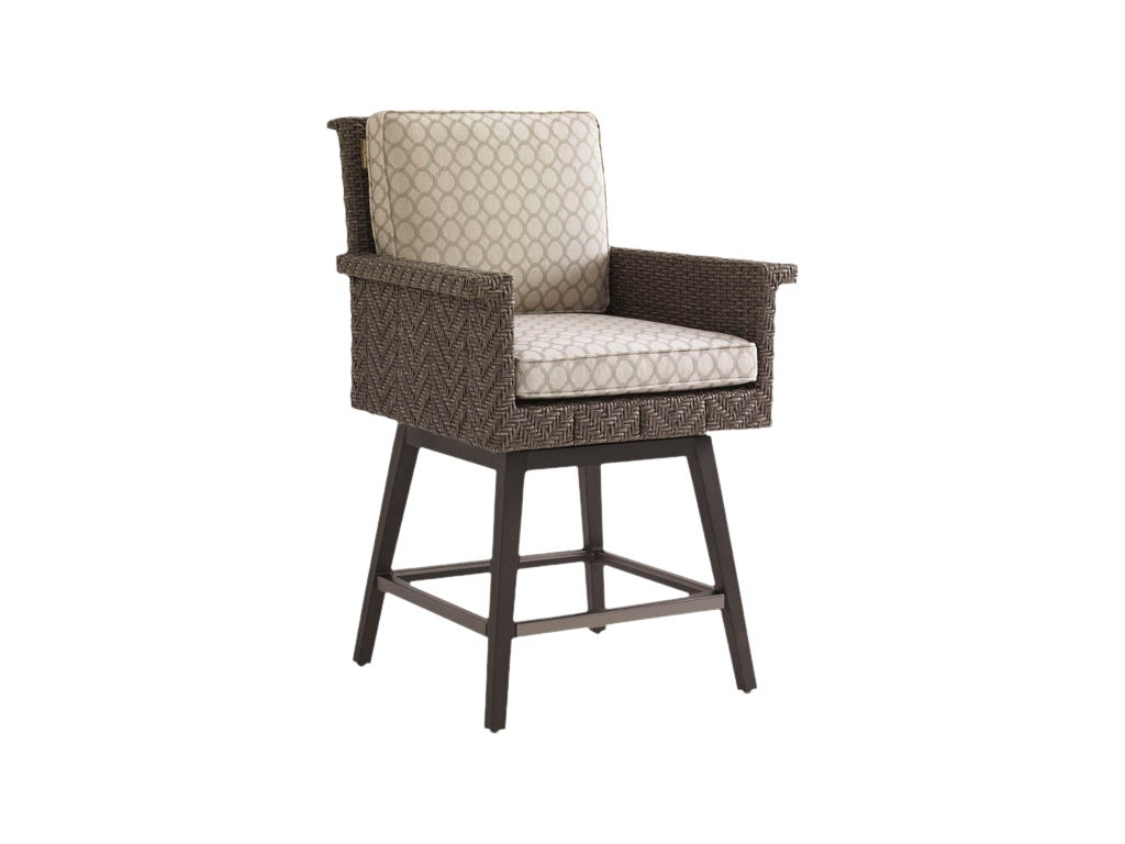 Tommy Bahama Outdoor Living * Bosie Only OutdoorPatio Swivel Counter Stool