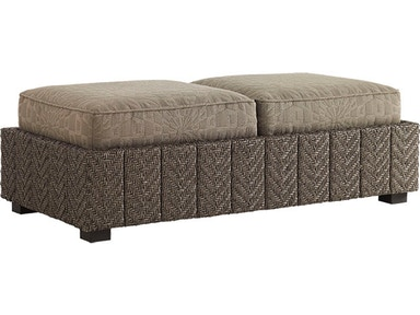 Tommy Bahama Outdoor Living Storage Ottoman 3230-44ST