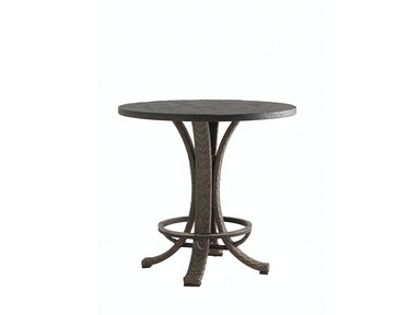 Tommy Bahama Outdoor Living High/Low Bistro Table Base (in low position)