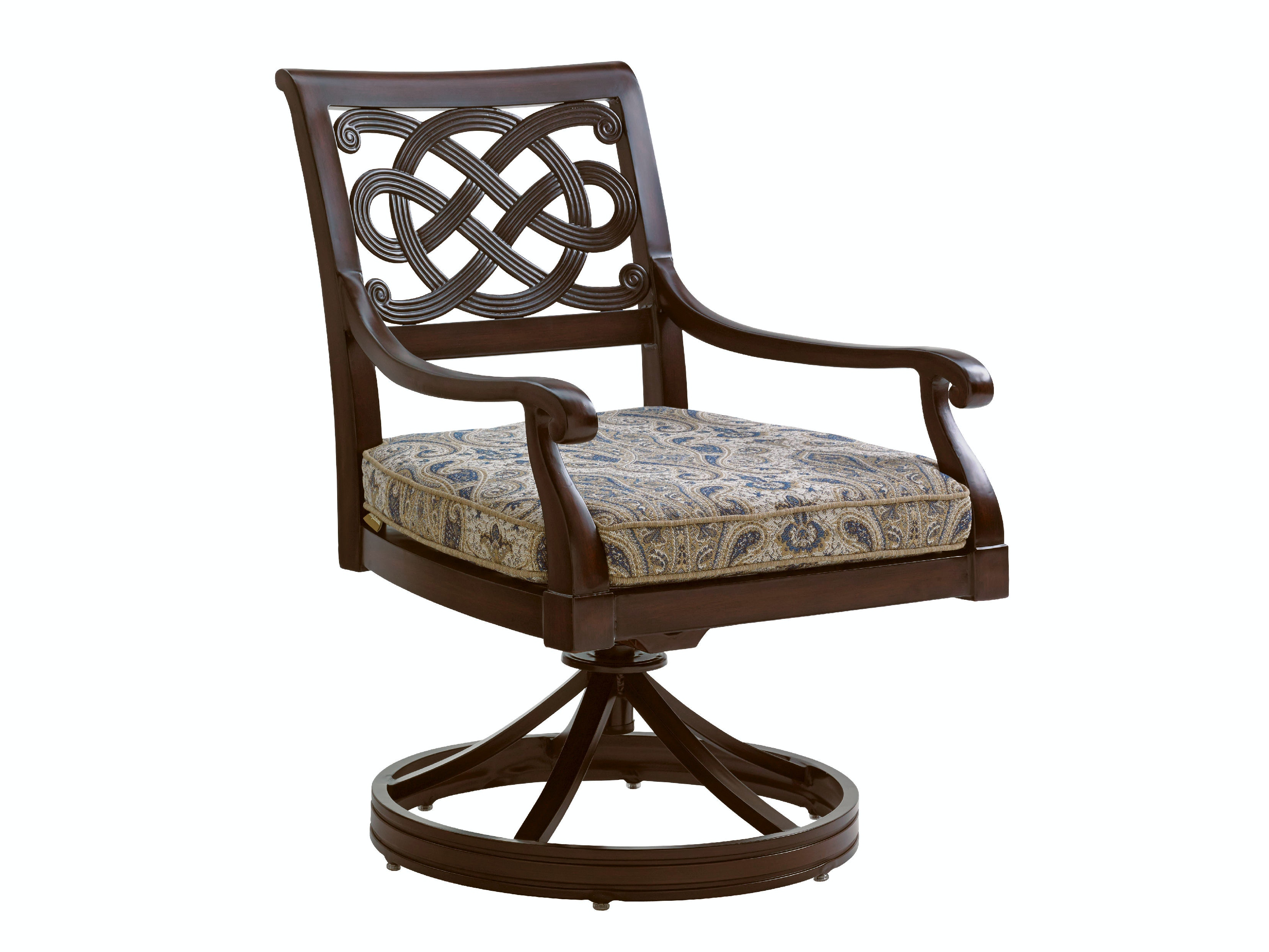 Tommy bahama outdoor living outdoorpatio swivel rocker dining chair