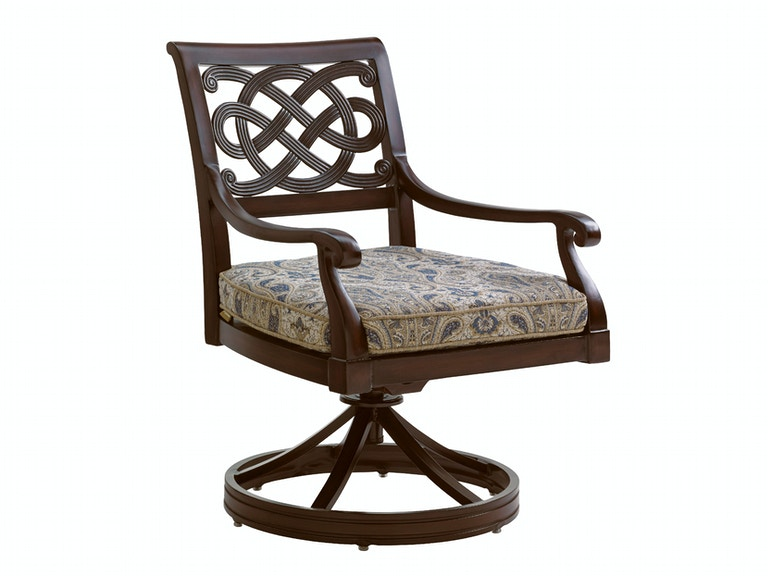 Tommy Bahama Outdoor Living Swivel Rocker Dining Chair 3235-13SR