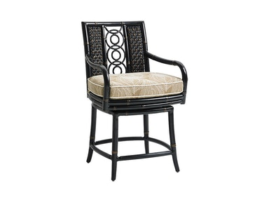 Tommy Bahama Outdoor Living Swivel Counter Stool 3237-17SW