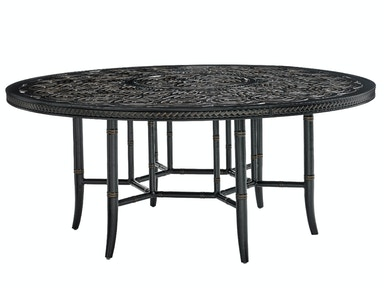Tommy Bahama Outdoor Living Round Dining Table Base 3237-875TB