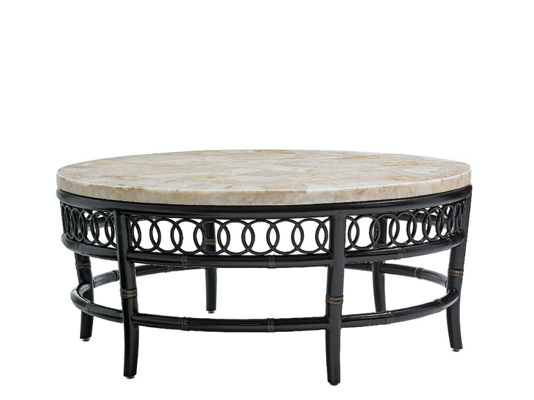 Tommy Bahama Outdoor Living Round Cocktail Table Base 3237-943TB