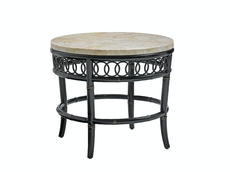Tommy Bahama Outdoor Living Round End Table Base 3237-953TB