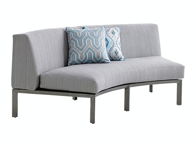 Tommy Bahama Outdoor Living Curved Sectional Love Seat 3800-52C