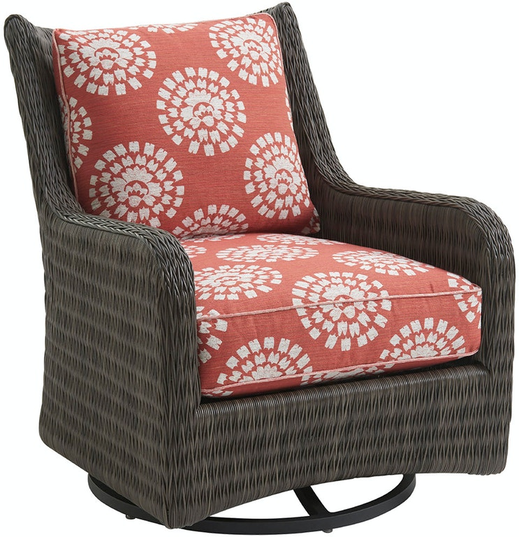 Tommy Bahama Outdoor Living Outdoor/Patio Occasional Swivel Glider ...