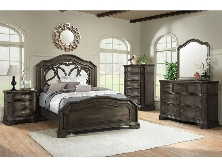 Lane Home Furnishings Bedroom Avignon Queen Bed With Dresser And Awesome Avignon Bedroom Furniture