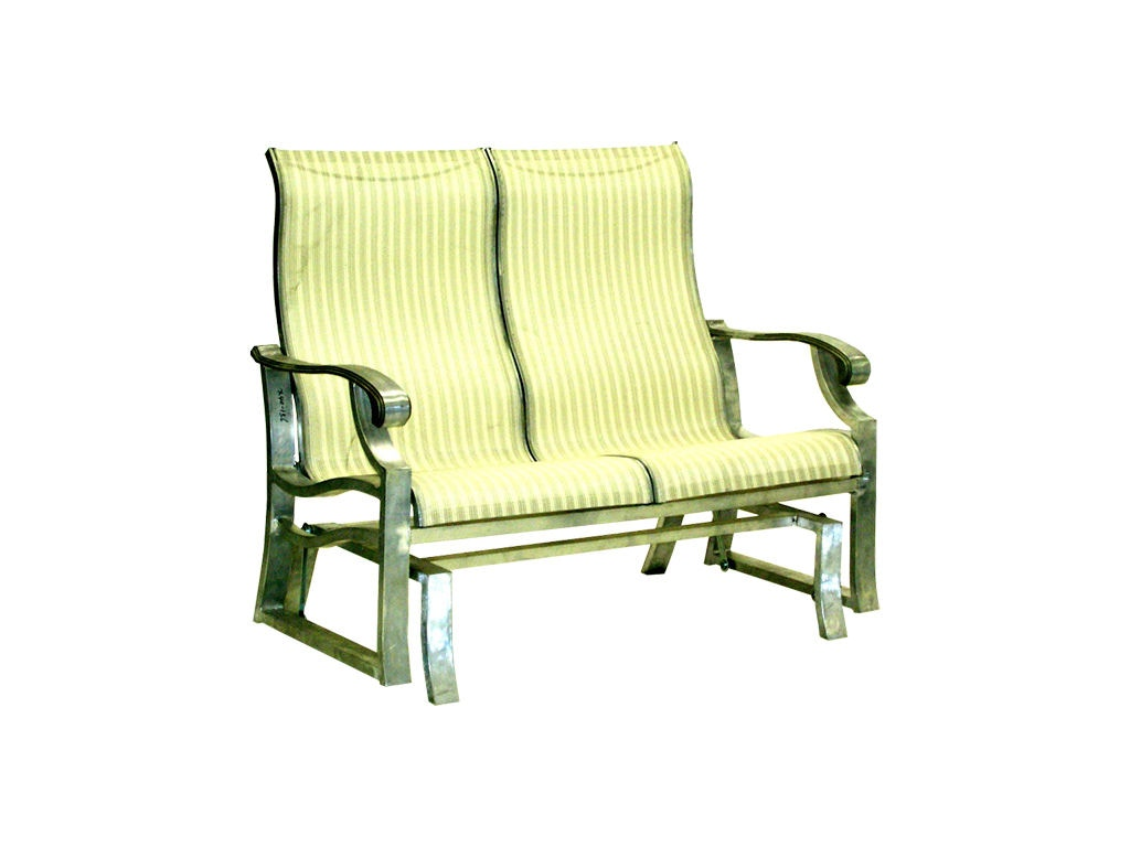 Mallin casual outdoor patio sling double glider an 157 mcarthur furniture calgary ab canada - Cheap patio furniture calgary ...