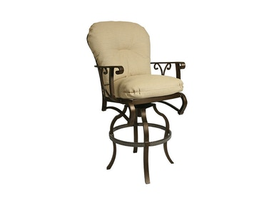Mallin Casual Cushion Barstool CA-470
