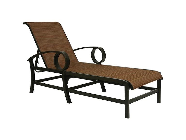 Mallin Casual Outdoor Patio Sling Chaise Ep 217 Mcarthur Furniture Calgary Ab Canada