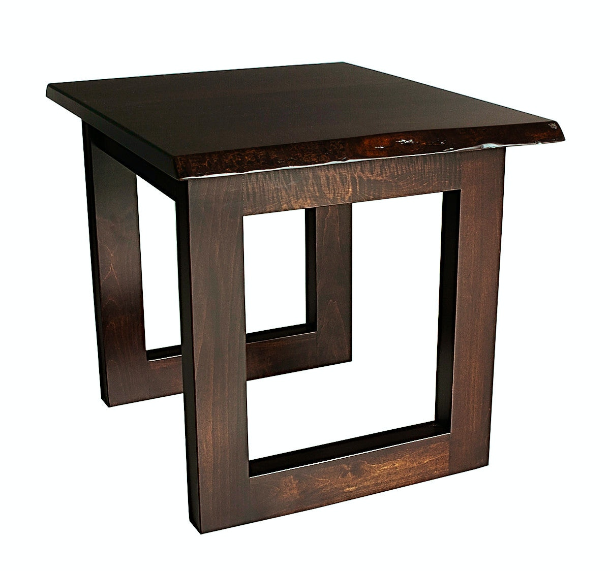 County Line Kevil Live Edge End Table CL9105